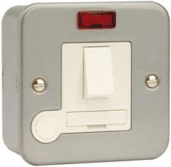 CLICK CL052  Mc 13A Fused Spur Switched Neon F/Outlet
